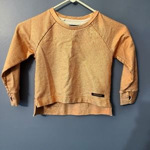 Finger in the Nose Copper girls crew neck sweater